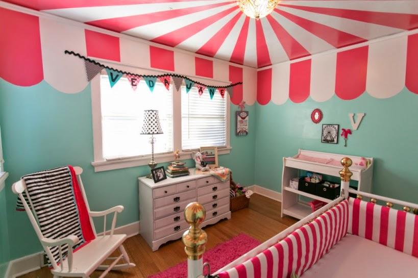 Dormitorio temático circo