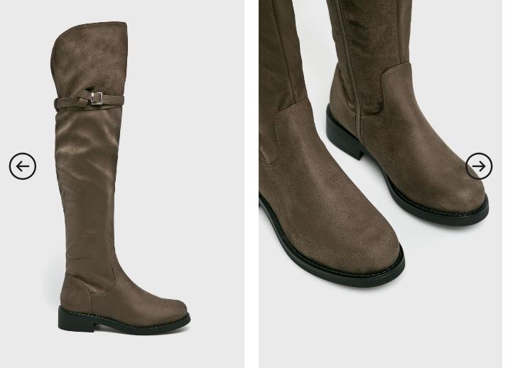 Answear - Cizme moderne comode fara toc inalte de iarna