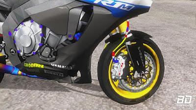 Download , Mod , Moto , Yamaha YZF-R1M 2017 leve para GTA San Andreas, GTA SA , Jogo , PC