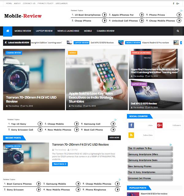 Magone responsive news magazine blogger template free download magone responsive news magazine blogger template free download maxwellsz