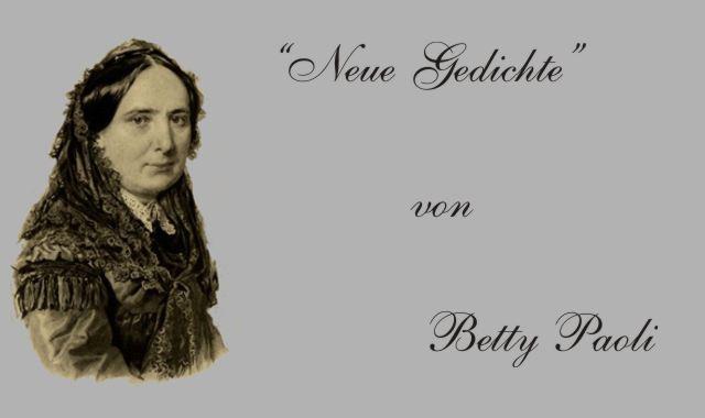 Betty Paoli-deutsche Dichterin