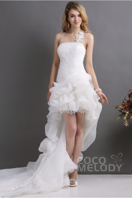 Cocomelody Short Wedding Dress - A Glimpse of Glam