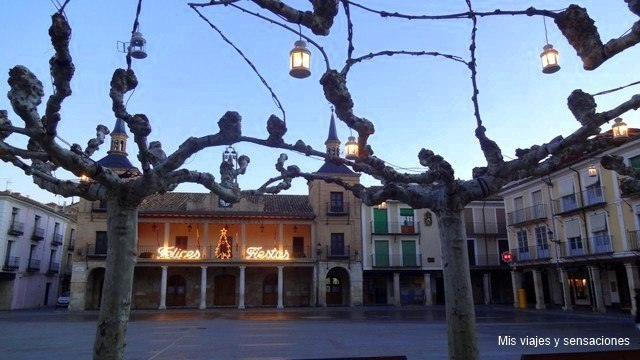 Plaza Mayor, El Burgo de Osma, Soria