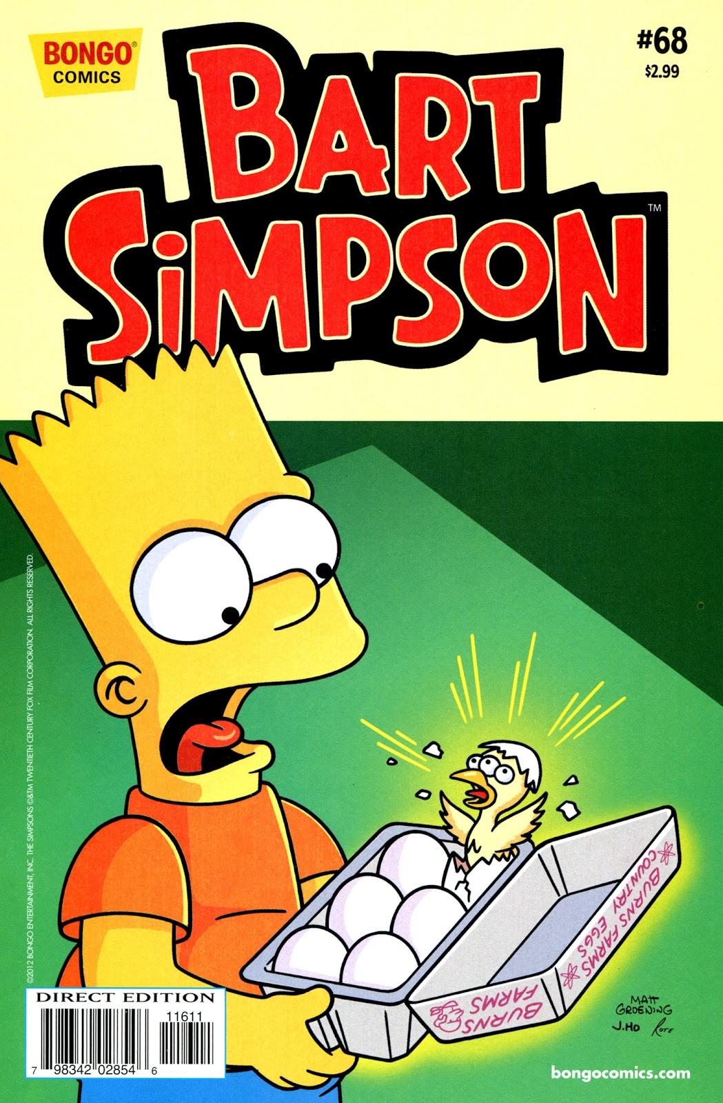Simpsons Comics Presents Bart Simpson 68 Page 1