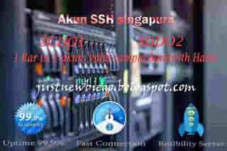 Akun SSH Singapura SGDO 7 maret 2015 premium gratis