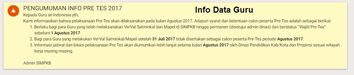Jadwal Pretest PKB (SIMPKB) 2017 img