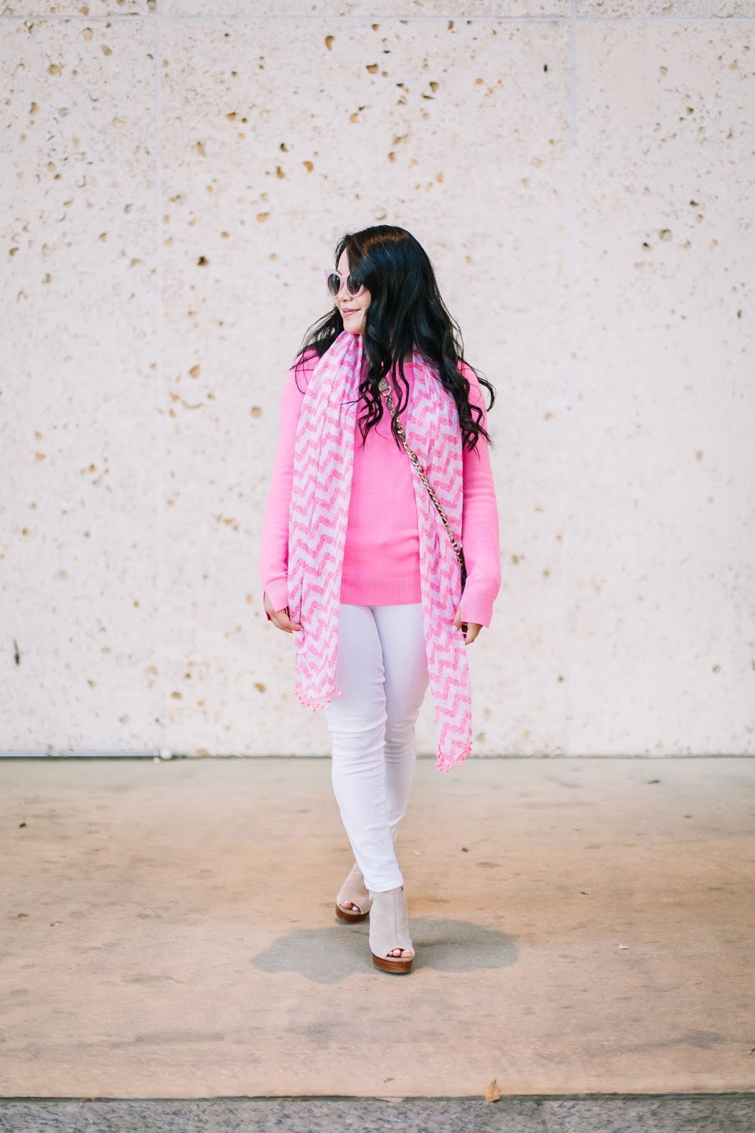 bright pink spring