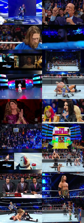 Screen Shot Of WWE SmackDown Live 13th November 2018 HDTV 480P 300MB