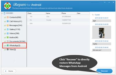 Cara mengembalikan Chat Whatsapp yg terhapus lama dari Perangkat Android