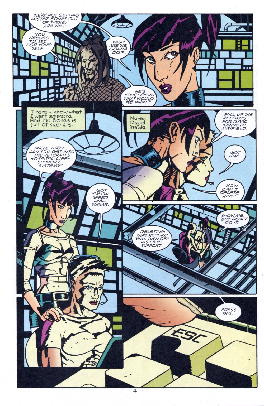 Read online Accelerate comic -  Issue #4 - 7