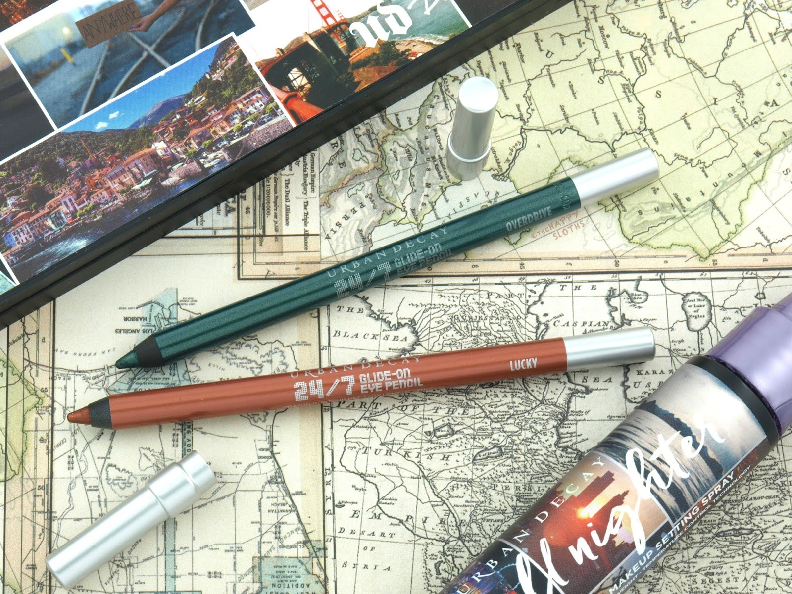 Urban Decay | Born to Run Collection 24/7 Glide-On Eye Pencil: Review and Swatches