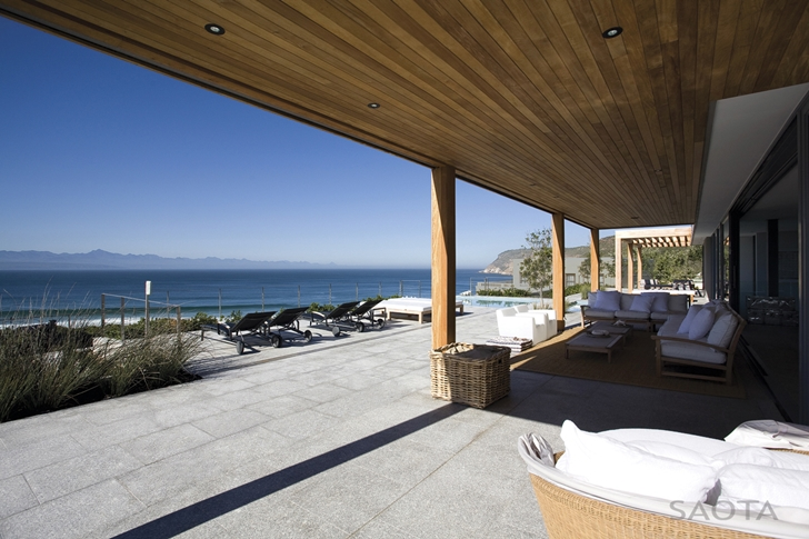 Terrace view of Beautiful Plett 6541+2 Home by SAOTA