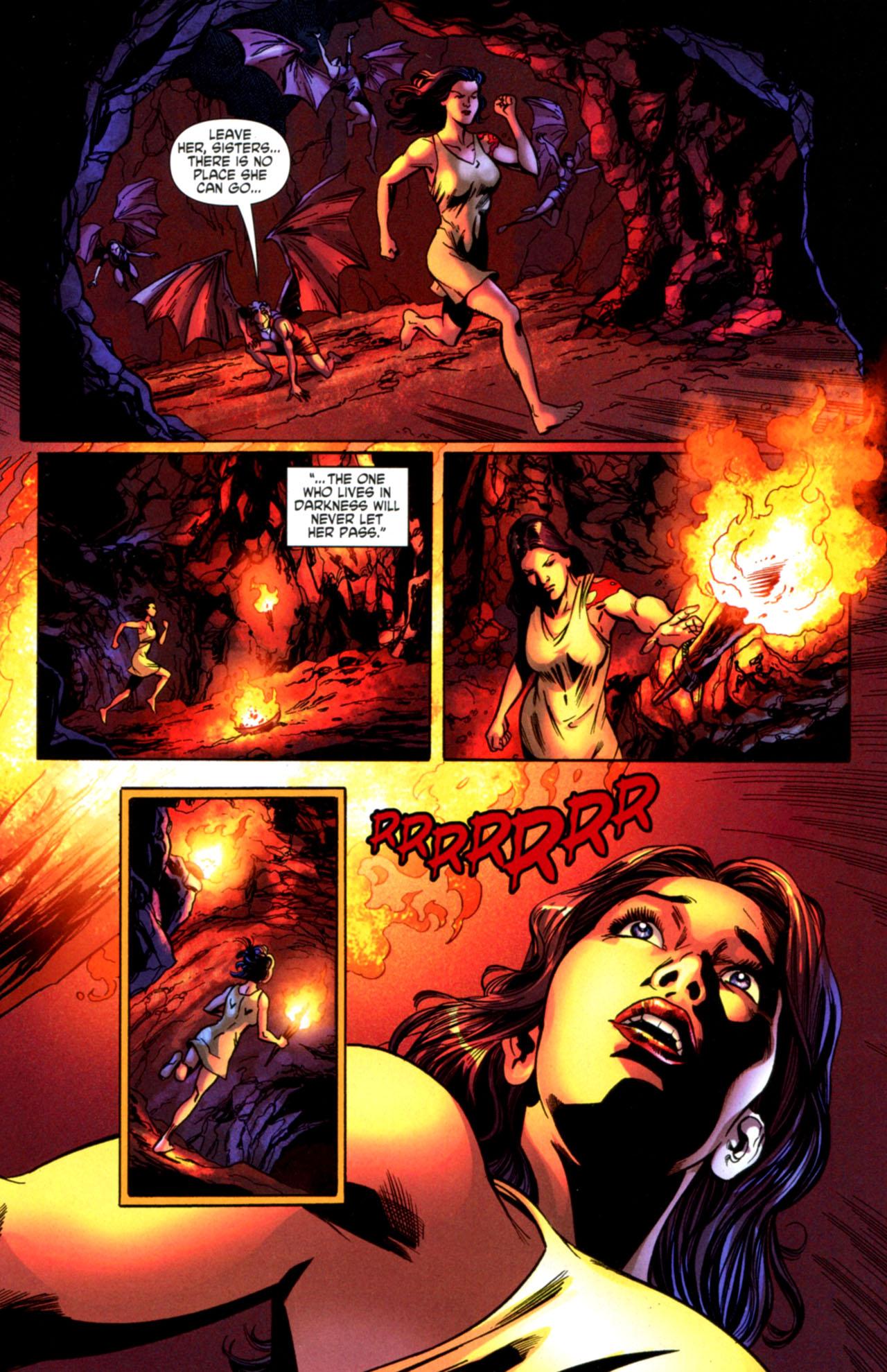 Read online Wonder Woman (2006) comic -  Issue #603 - 16