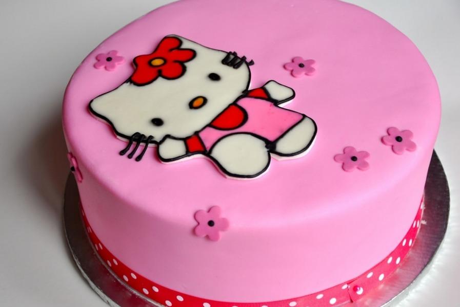 Cara Membuat Kue Ultah Hello Kitty Terbesar Dan Terbaru