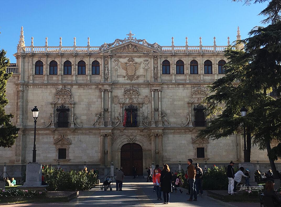 Alcalá de Henares fachada de la Universidad