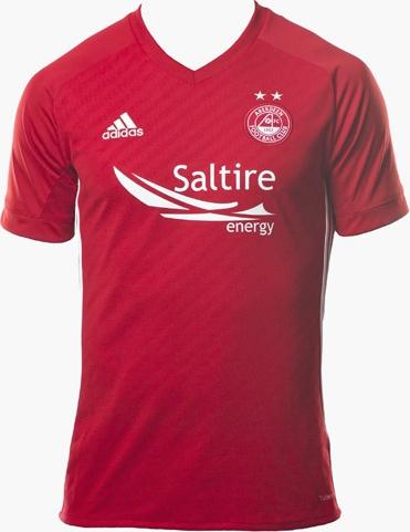 Adidas lança as novas camisas do Aberdeen - Show de Camisas 5a570d1698aeb