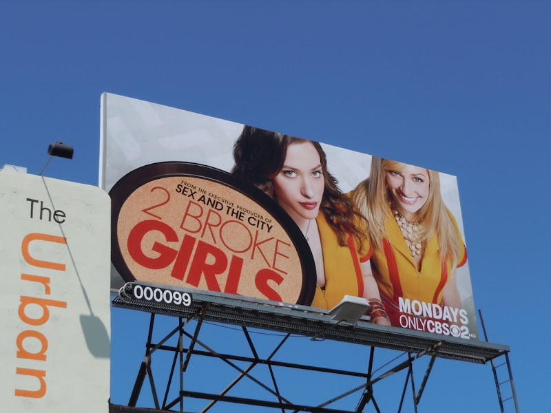 2 Broke Girls billboard