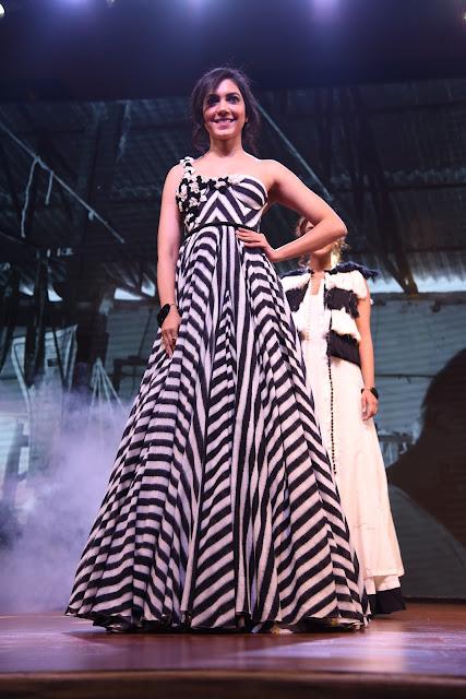 Actress Ritu Varma at Woven 2017 fashion show