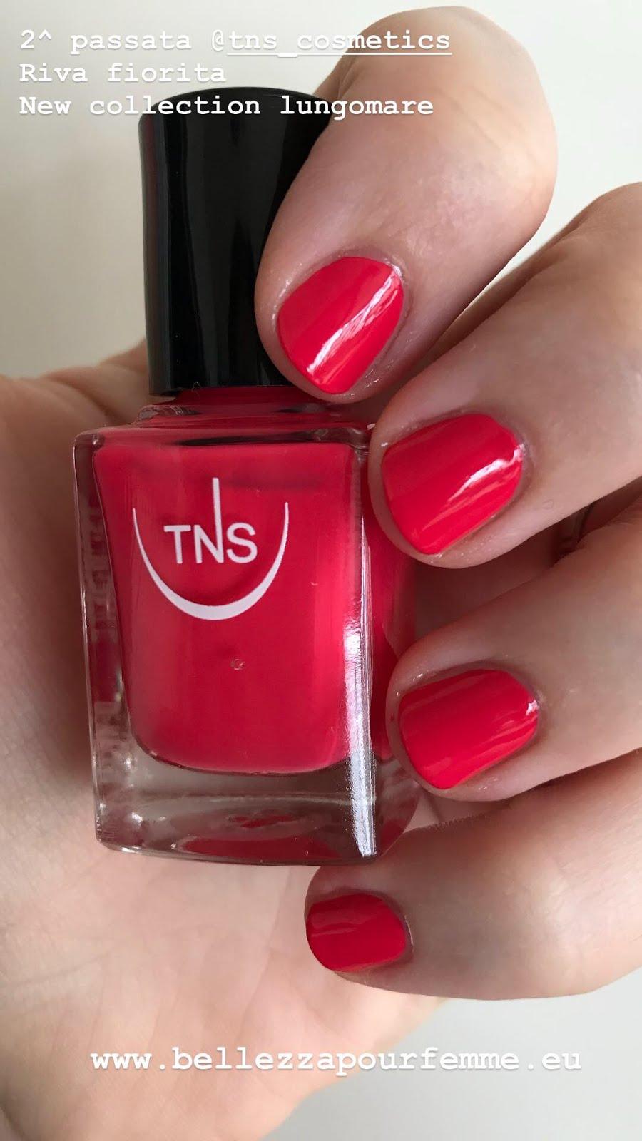 2 applicazione TNS Cosmetics SS 2018 Lungomare smalto Riva Fiorita
