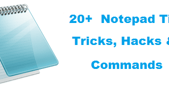 20 Best Ever Cool Notepad Tips And Tricks Geek