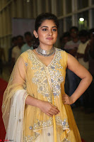 Nivetha Thamos in bright yellow dress at Ninnu Kori pre release function ~  Exclusive (6).JPG