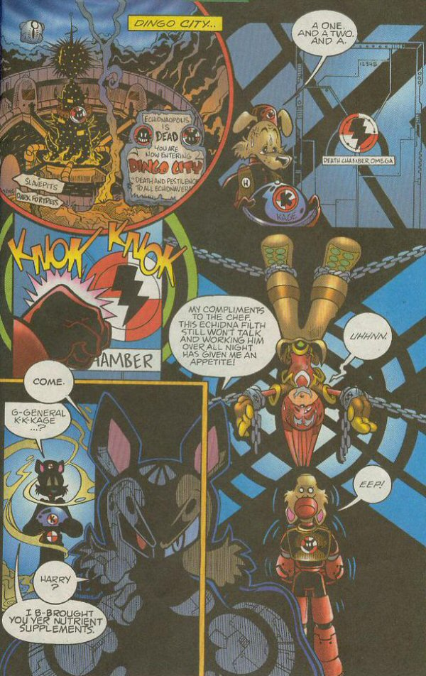 Read online Sonic The Hedgehog comic -  Issue #140 - 12