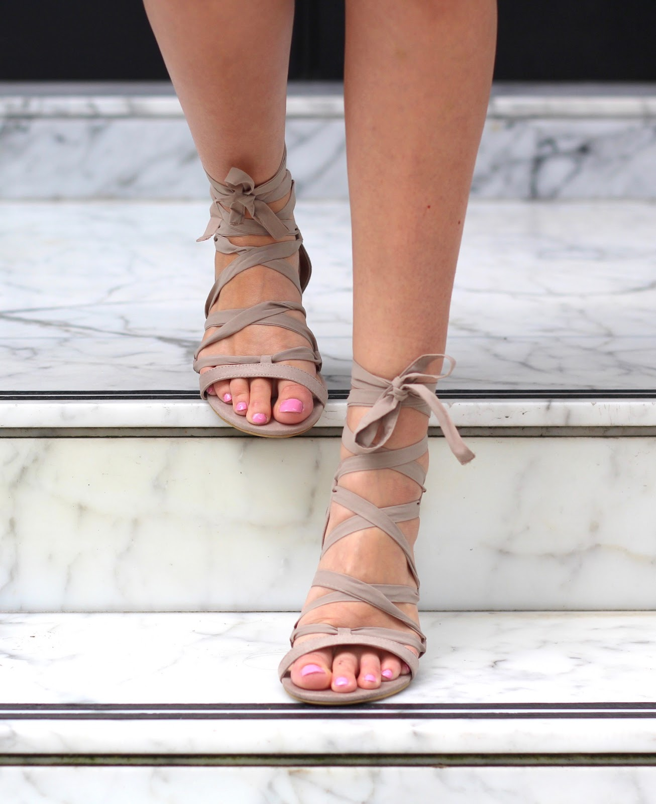 lace up sandals new look
