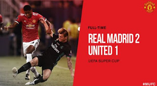 Real Madrid 2-1 Manchester United Video Gol & Highlights