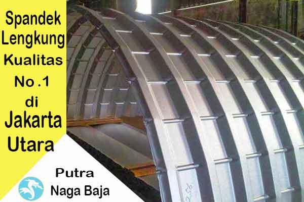 Harga Atap Spandek Lengkung Jakarta Utara Per Meter dan Per Lembar