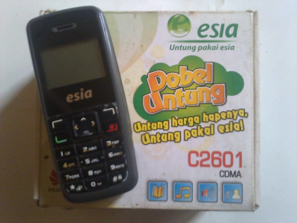 Kenangan Manis Bersama Hape Esia Huawei C2601 CDMA