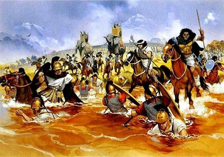 Trasumennus Gölü Muharebesi'de Roma için iyi sonuçlanmamıştı, Kartaca ordusu muharebenin sonunda galip gelmişti.