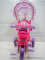 2 GoldBaby JT09 Winch Baby Tricycle in Pink