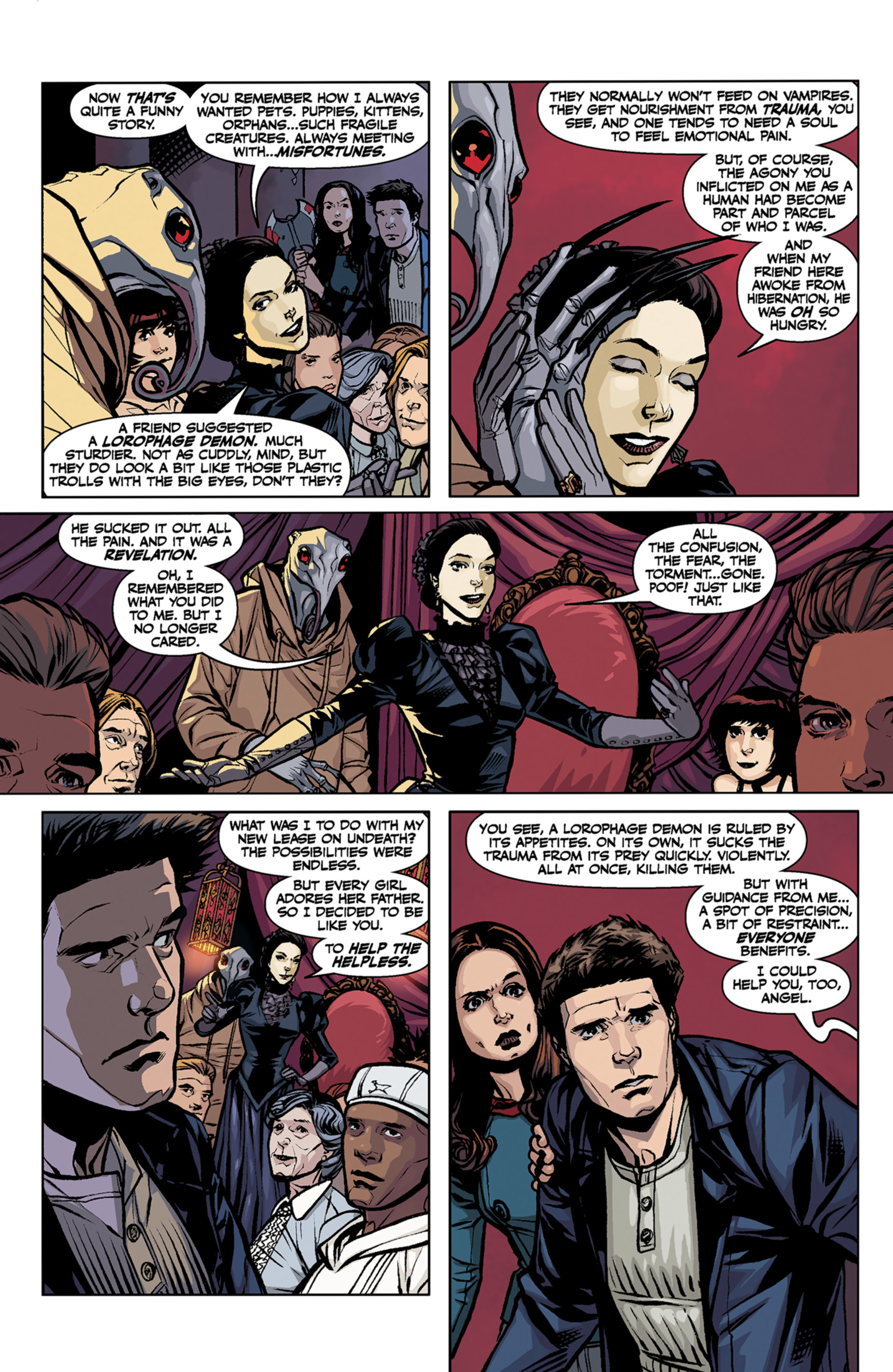 Read online Angel and Faith comic -  Issue #7 - 7