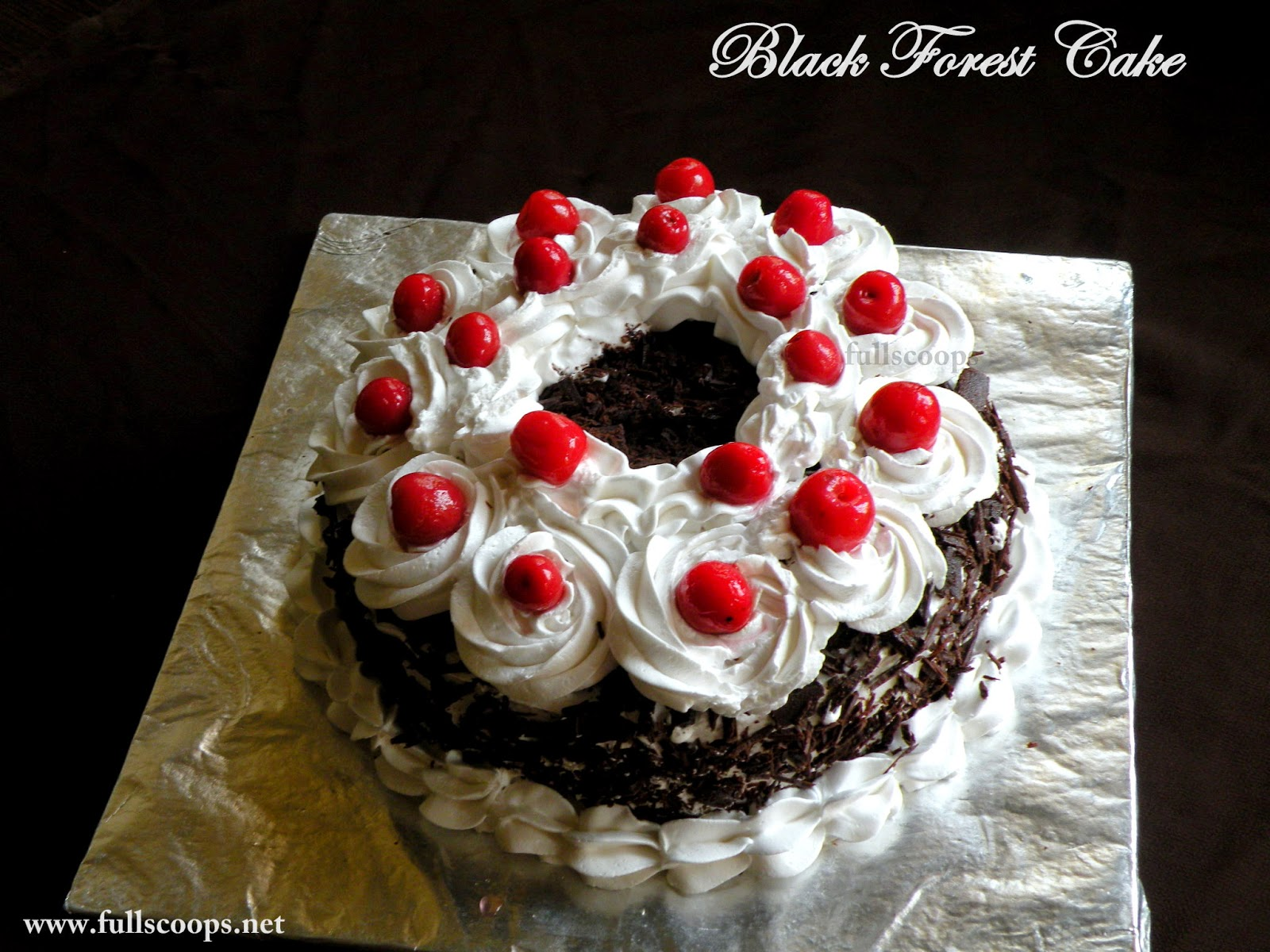 Black Forest Cake / How to make a Black Forest Cake ~ Full ...