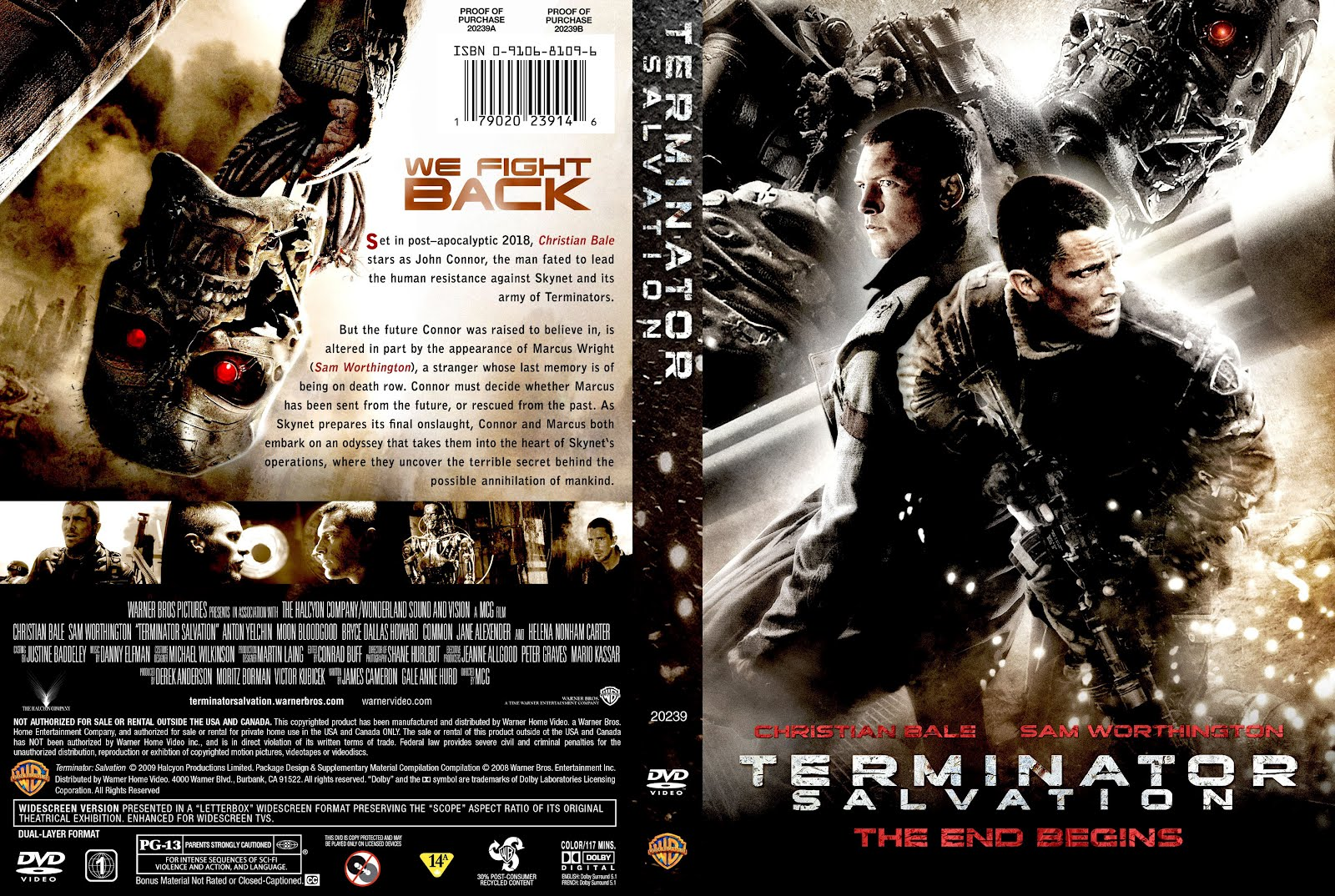 Fight Christian Terminator Salvation 2009 Movie Posters And Blu Ray Dvd Covers