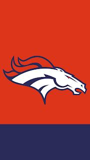 Wallpaper Denver Broncos orange para celular gratis