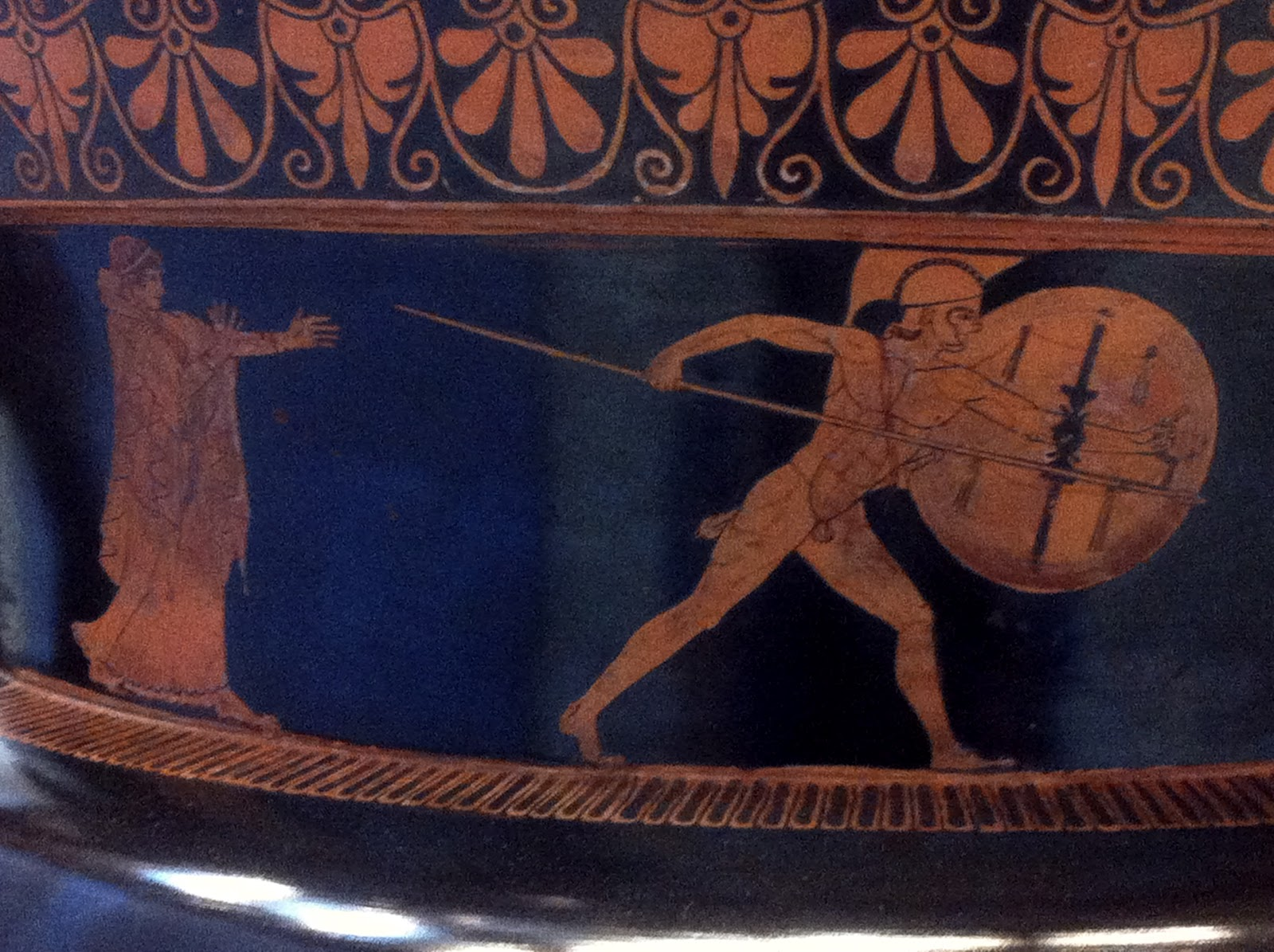 Achilles And Hector Vase