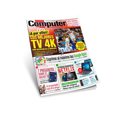 Computer Hoy - 03 Junio 2016 - Los mejore TV 4K, ¡A por ellos!, para disfrutar de la Eurocopa