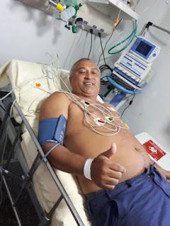 Após infarto, prefeito de Viana recebe tratamento médico em São Luís
