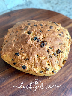 The Best and Easiest Irish Soda Bread!   Lucky & Co Recipe