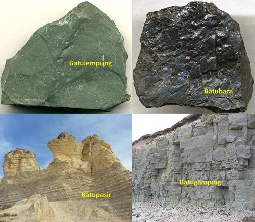 siklus batuan : jenis batuan sedimen