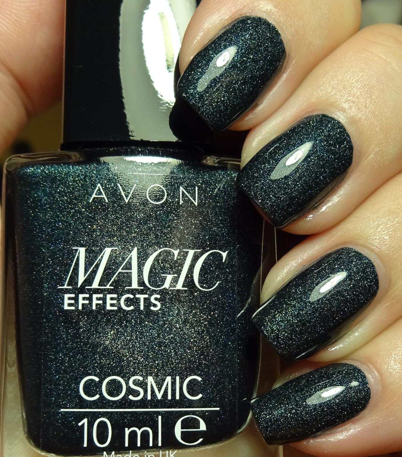 Wendy\'s Delights: Avon Magic Effects Nail Polish - Cosmic Range ...