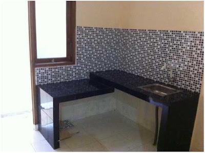 bentuk meja dapur sederhana