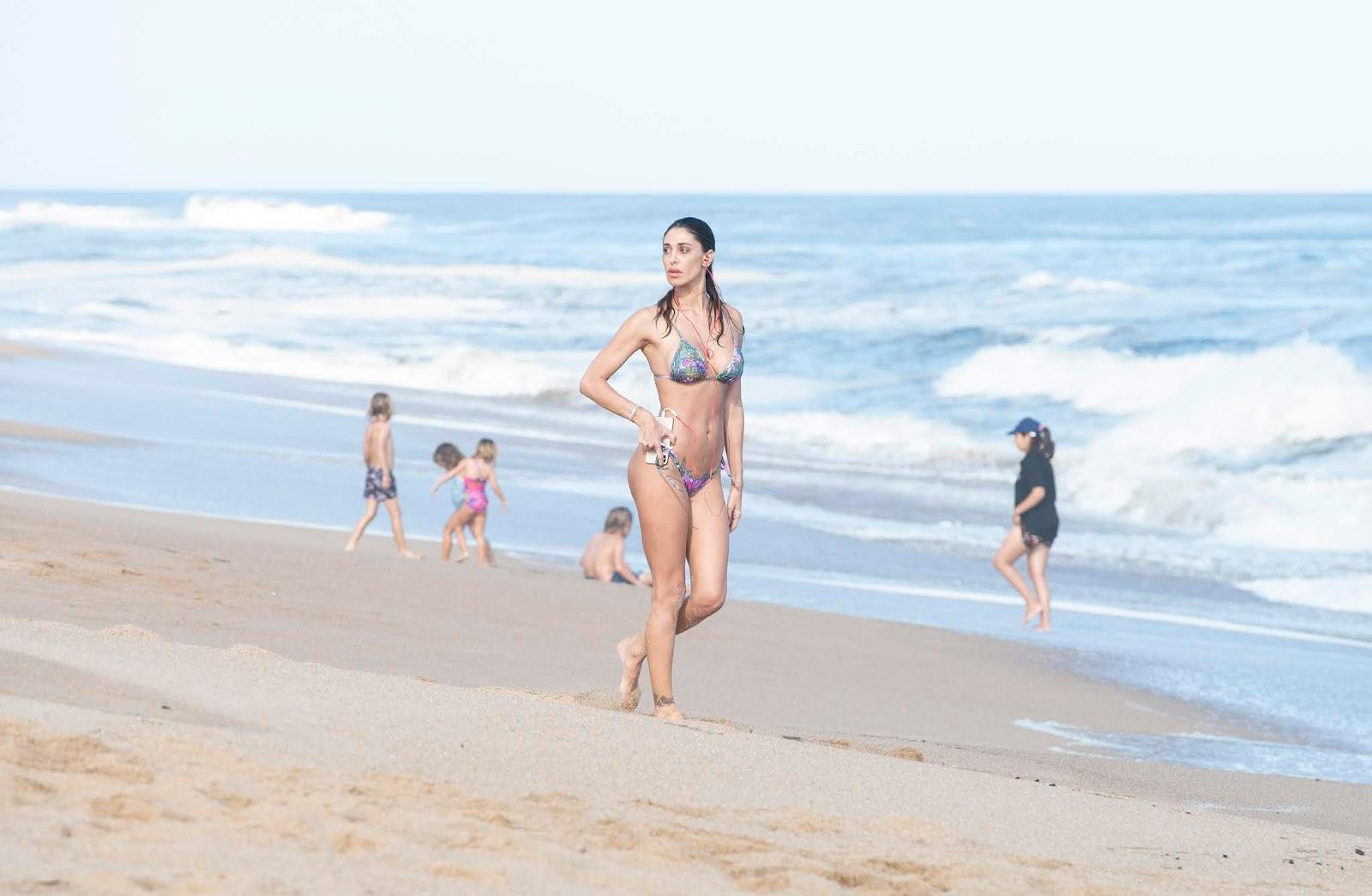 Belen Rodriguez Bikini Nude Photos 64