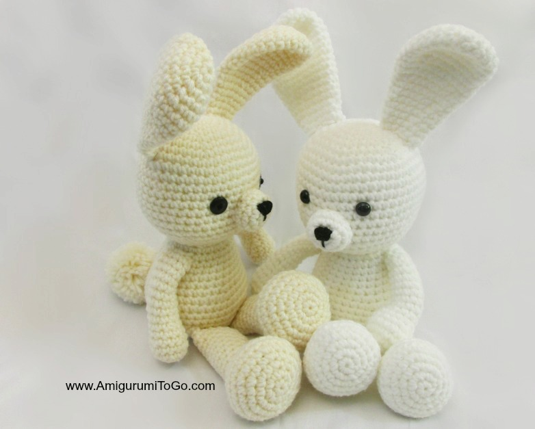 Amigurumi bunny with long ears - Amigurumi Today | 627x782