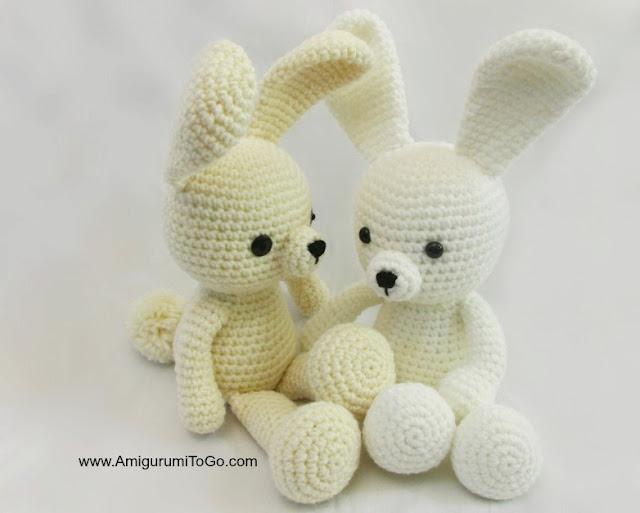 Little crochet bunny FREE PATTERN - KNITTED STORY BEARS | 513x640
