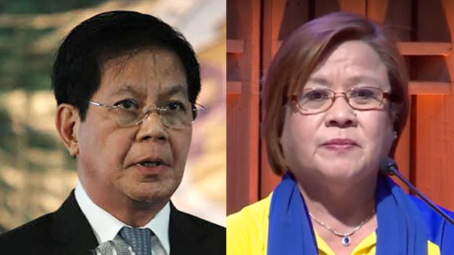 Lacson confirms De Lima's cell number