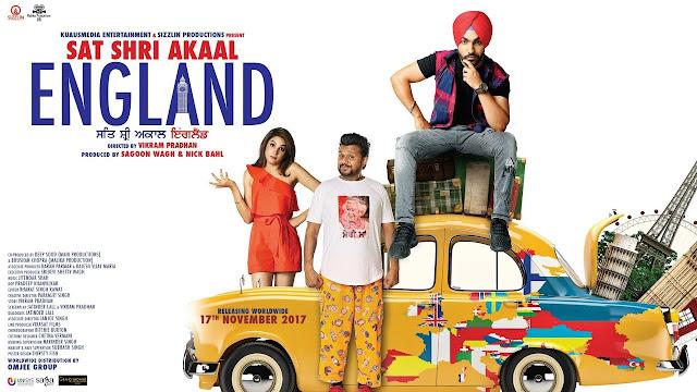 Sat Shri Akaal England 2017 Full Punjabi Movie Download HDRip 720p