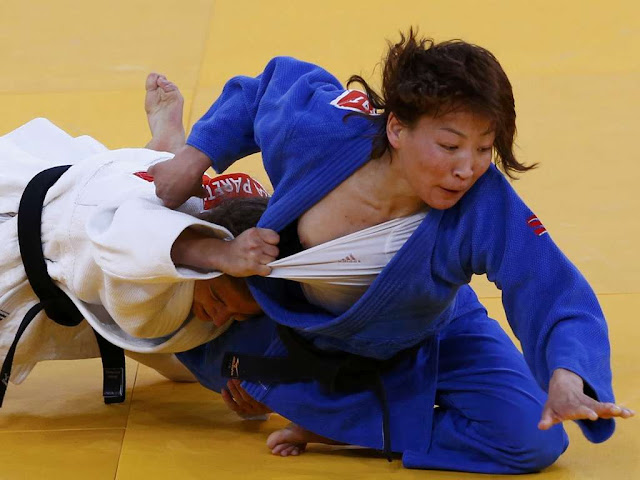 Urantsetseg Munkhbat Nipple Slip At The 2012 London Summer Olympics