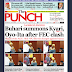 NAIJA NEWSPAPERS: TODAY'S THE PUNCH NEWSPAPER HEADLINES [2 NOVEMBER, 2017].